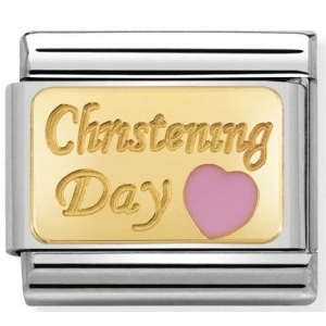 Nomination - Link 18K Gold Christening Day 030284/22