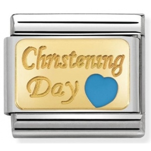 Nomination - Link 18K Gold Christening Day 030284/23