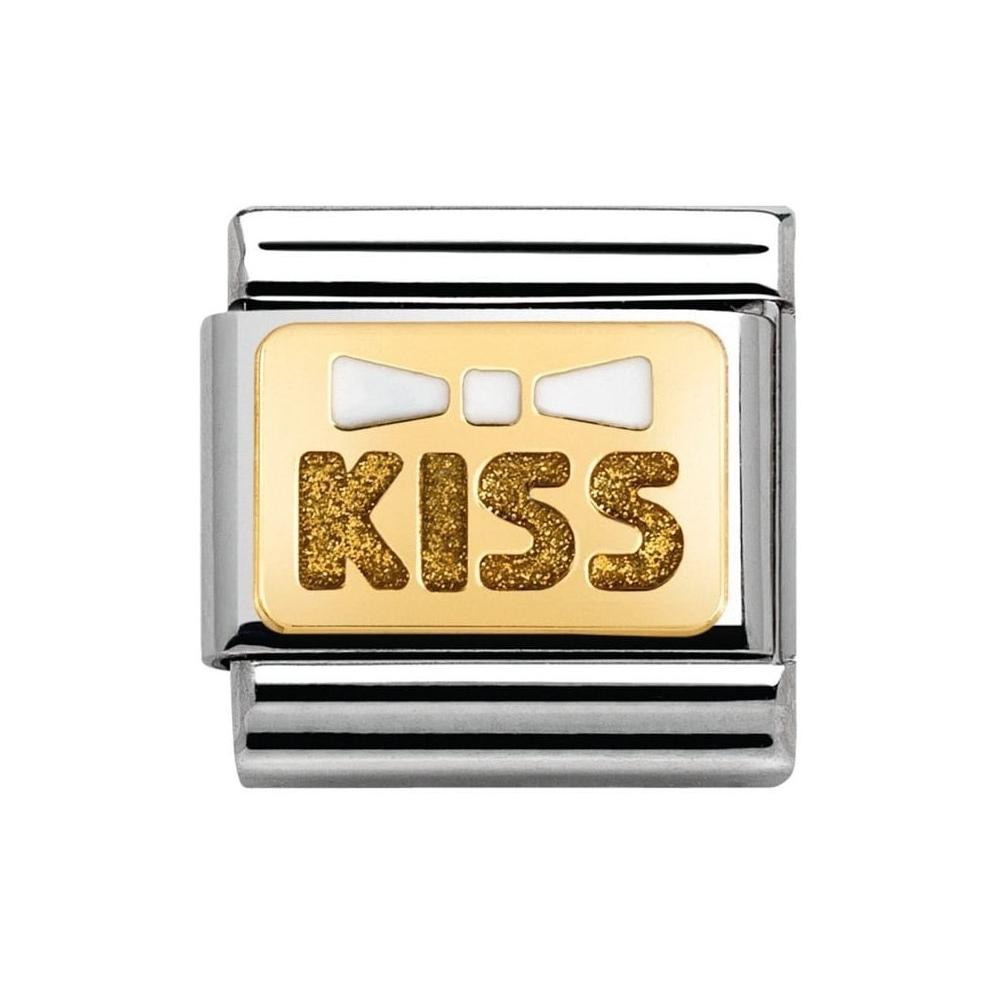 Nomination - Link 18K Kiss 030280/35