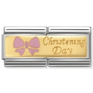 Nomination - Link 18K Gold Christening Day 030720/04
