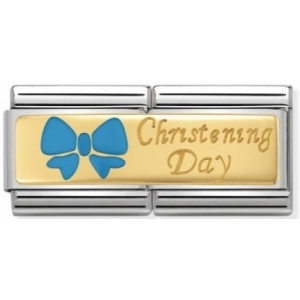 Nomination - Link 18K Gold Christening Day 030720/05