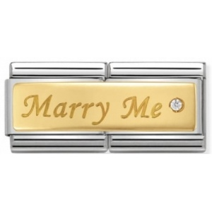 Nomination - Link 18K Gold Marry Me 030730/01