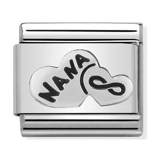 Nomination - Link 925 Silver Serce Nana 330101/19