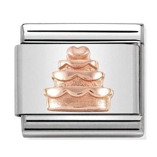 Nomination - Link 9K Rose Gold 'Tort' 430106/02