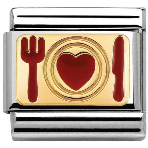 Nomination - Link 18K Food of Love 030284/12