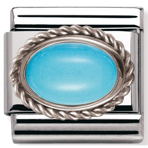 Nomination - Link 925 Silver 'Turkus' 030509/06