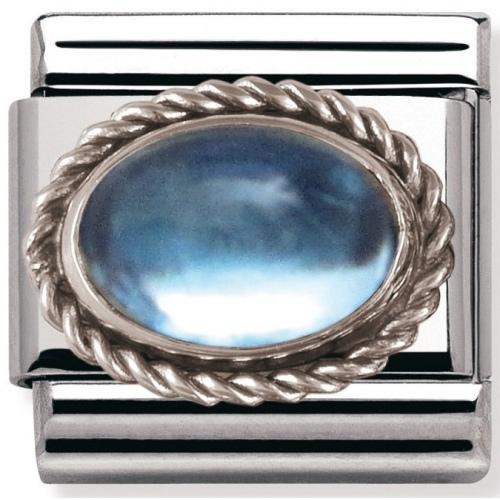 Nomination - Link 925 Silver 'Topaz' 030510/13