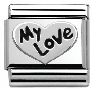 Nomination - Link 925 Silver 'My Love' 330101/09
