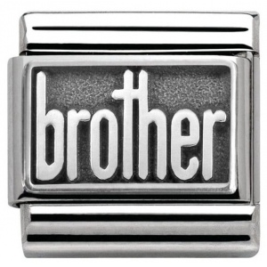Nomination - Link 925 Silver 'Brother' 330102/32