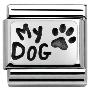 Nomination - Link 925 Silver 'My Dog' 330102/35