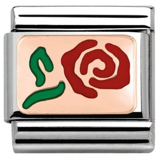Nomination - Link Rose Gold Róża 430201/10
