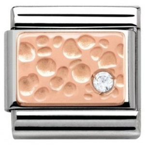 Nomination - Link Rose Gold Bąble 430303/02