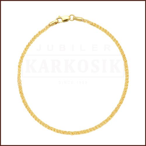 Złota Bransoletka Lisi Ogon 20cm pr.333