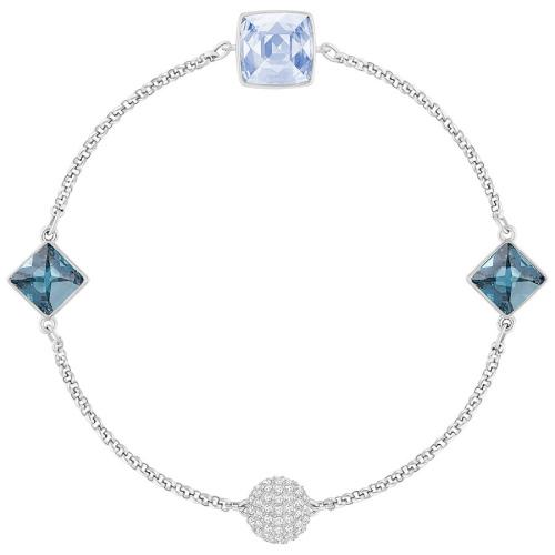 Bransoletka SWAROVSKI -Remix Collection Crystal Spike, Blue 5365761