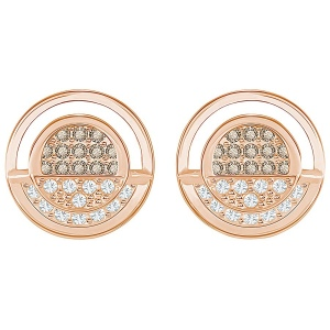 Kolczyki SWAROVSKI -Hillock Round Pierced Earrings 5351081