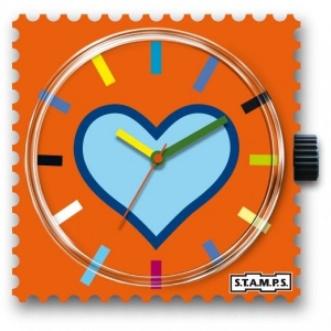 Zegarek STAMPS - Blue Heart