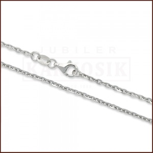Srebrny Łańcuszek Ankier 50cm pr. 925