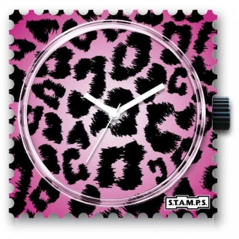 Zegarek STAMPS - Pink Leo
