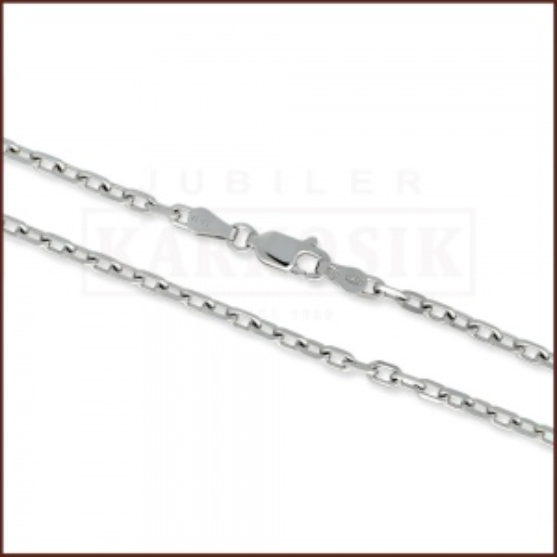 Srebrny Łańcuszek Ankier 65cm pr. 925