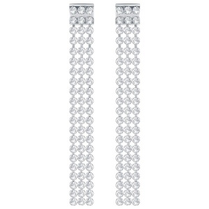 Kolczyki SWAROVSKI - Fit Long Pierced Earrings 5293087