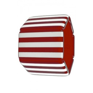Bransoleta STAMPS - Belta Stripes Red & White