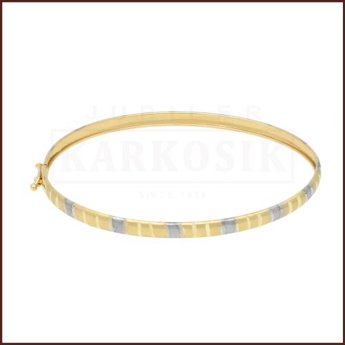 Złota Bransoletka 17cm pr. 585