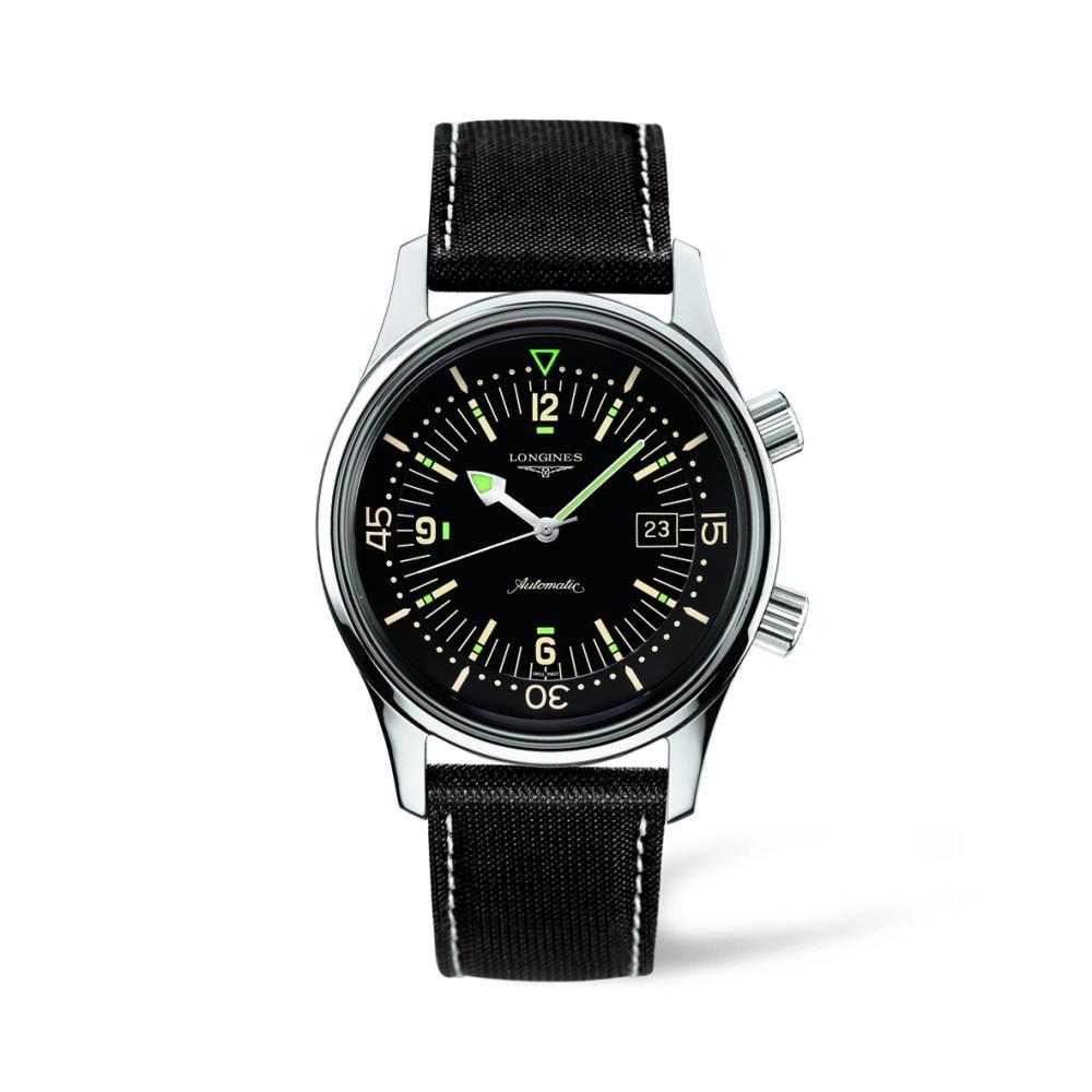 Longines Legend Diver Watch L3.674.4.50.0