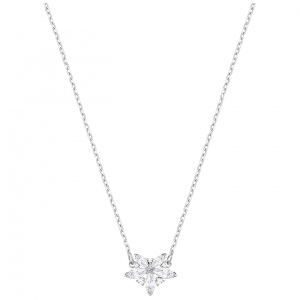 Naszyjnik SWAROVSKI - Hall Heart Rhodium Plating 5368250