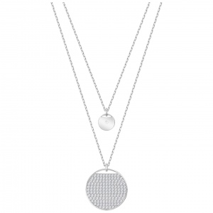 Naszyjnik SWAROVSKI - Ginger Layered  Rhodium Plating 5389047