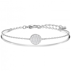 Bransoletka SWAROVSKI - Ginger Bangle, Rhodium plating 5389044