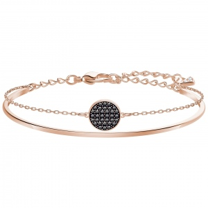 Bransoletka SWAROVSKI - Ginger Bangle, Rose Gold 5389046