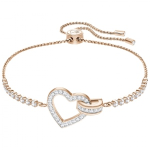 Bransoletka SWAROVSKI - Lovely, Rose Gold 5368541