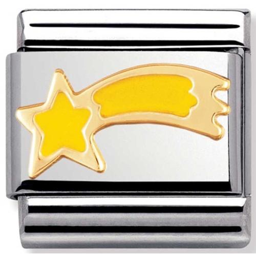 Nomination - Link 18K Gold Spadająca Gwiazda 030225/01