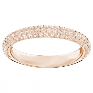 Pierścionek SWAROVSKI - Stone Mini Ring, Rose gold 5402443 52