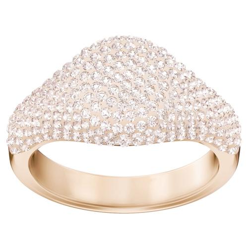 Pierścionek SWAROVSKI - Stone Signet, Rose gold 5412032 52