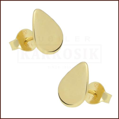 Złote kolczyki - Kulki 4mm pr.333