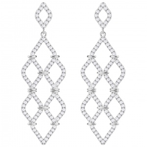 Kolczyki SWAROVSKI - Lace Pierced Earrings 5382358