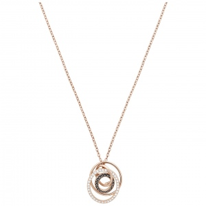 Naszyjnik SWAROVSKI - Greeting Pendant Ring, Rose gold 5394969