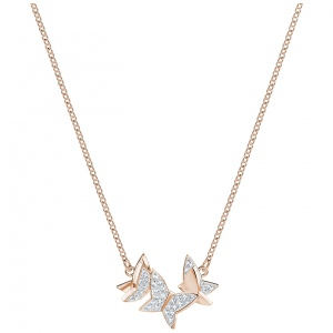 Naszyjnik SWAROVSKI - Lilia Necklace, Rose Gold 5382366