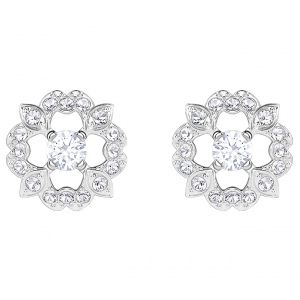 Kolczyki SWAROVSKI - Sparkling Flower Pierced Earrings 5396227