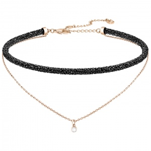 Naszyjnik SWAROVSKI - Long Beach Necklace, Rose Gold 5385838