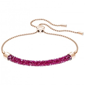 Bransoletka SWAROVSKI - Long Beach Bracelet, Rose gold 5404434