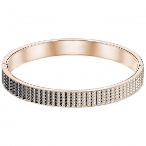 Bransoletka SWAROVSKI - Luxury Bangle, Rose Gold 5402543 S