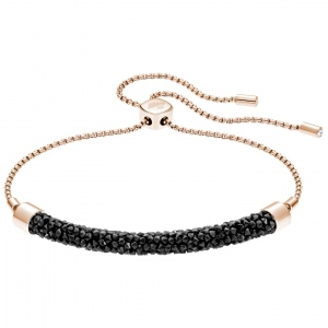 Bransoletka SWAROVSKI - Long Beach Bracelet, Rose gold 5404438