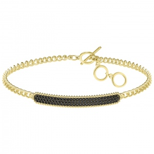 Bransoletka SWAROVSKI - Locket Bracelet, Gold 5406996