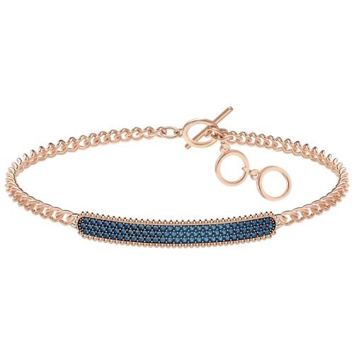 Bransoletka SWAROVSKI - Locket Bracelet, Rose Gold 5390256