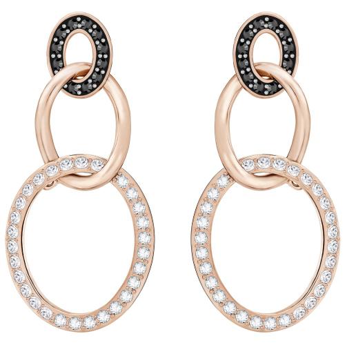 Kolczyki SWAROVSKI - Greeting Pierced Ring, Rose gold 5389673