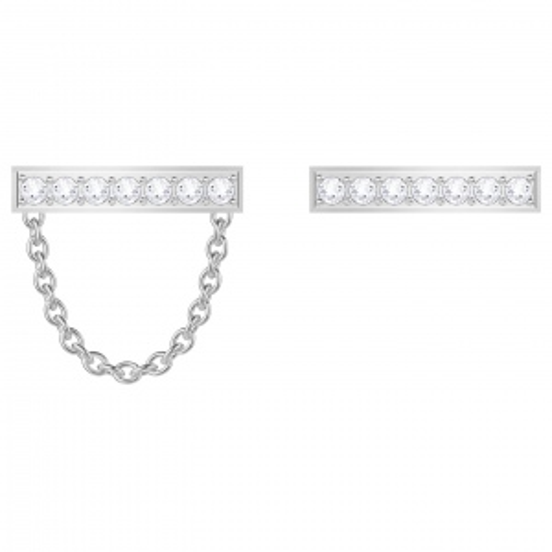 Kolczyki SWAROVSKI - Vittore Pierced Earrings, Silver 5392760