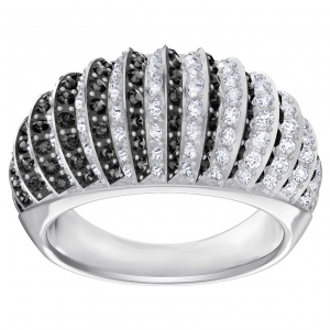 Pierścionek SWAROVSKI - Luxury Domed, Silver 5412058 52