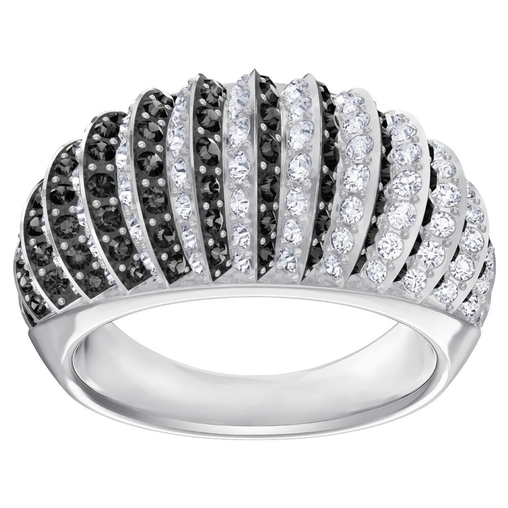 Pierścionek SWAROVSKI - Luxury Domed, Silver 5412058 52